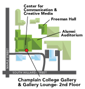 Map of the CCM Building